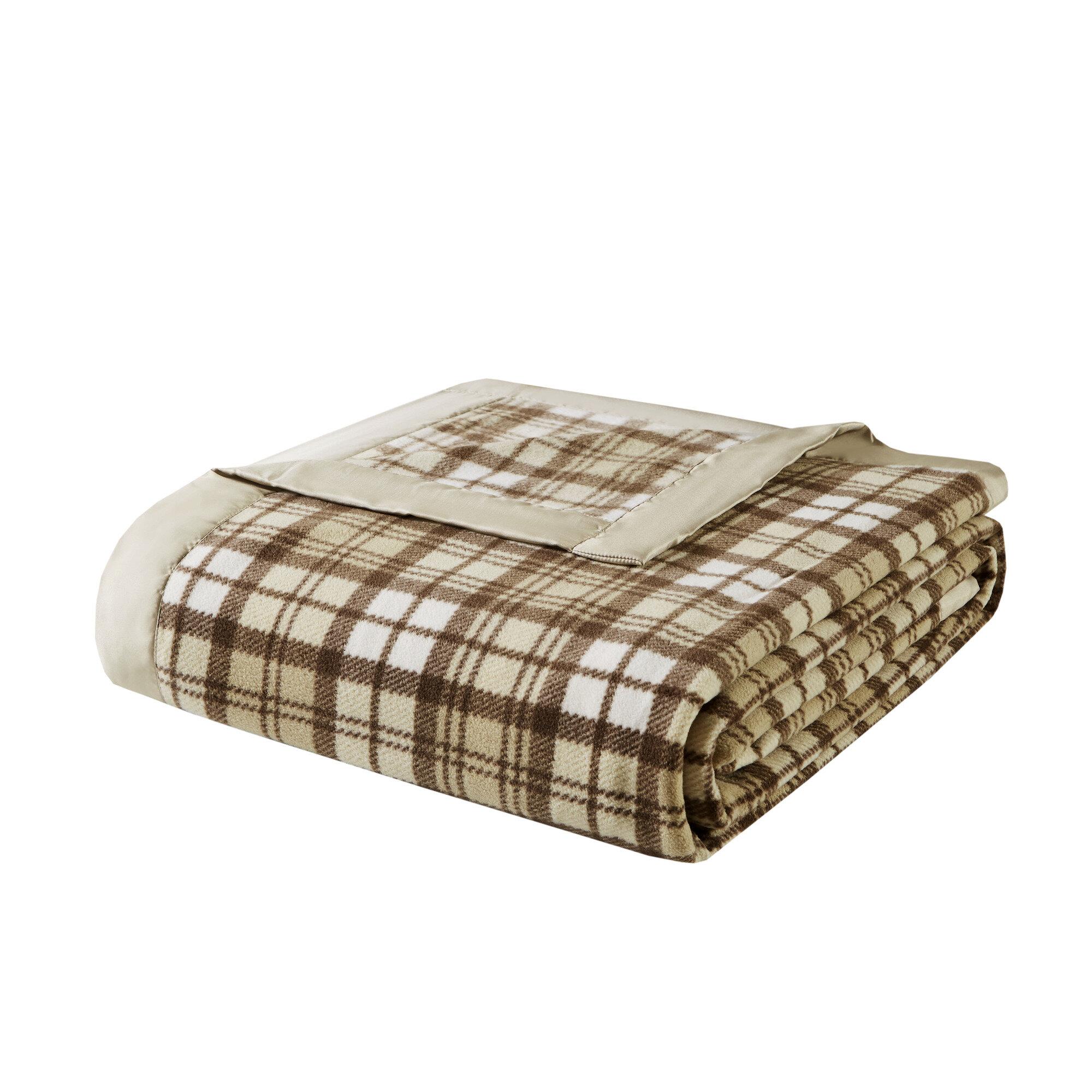 Charlton Home Abingdon Micro Fleece Blanket Reviews Wayfair