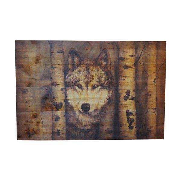 Graphic Art Print on Wood by Loon Peak