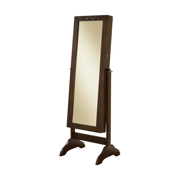 Veranda Jewelry Box Cheval Mirror by Wildon Home ®