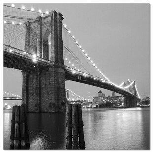 Modern contemporary brooklyn bridge wall art allmodern acrylic photographic print malvernweather Gallery