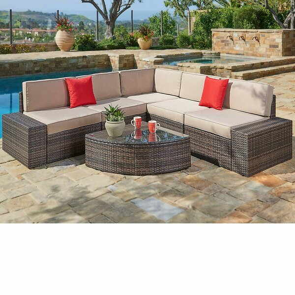 6 Piece Sofa Seating Group with Cushions by Red Barrel Studio