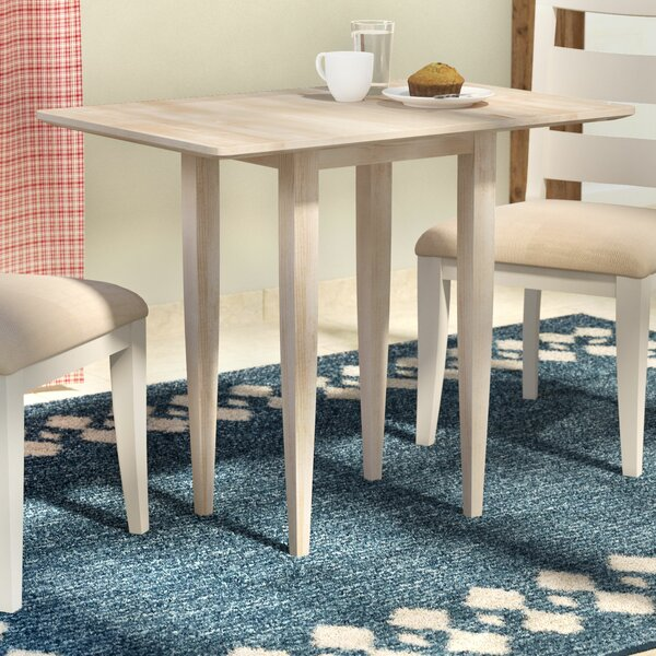 Lynn Solid Wood Dining Table by Mistana