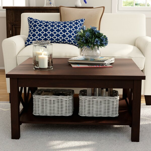 Enfield Coffee Table with Storage by Breakwater Ba