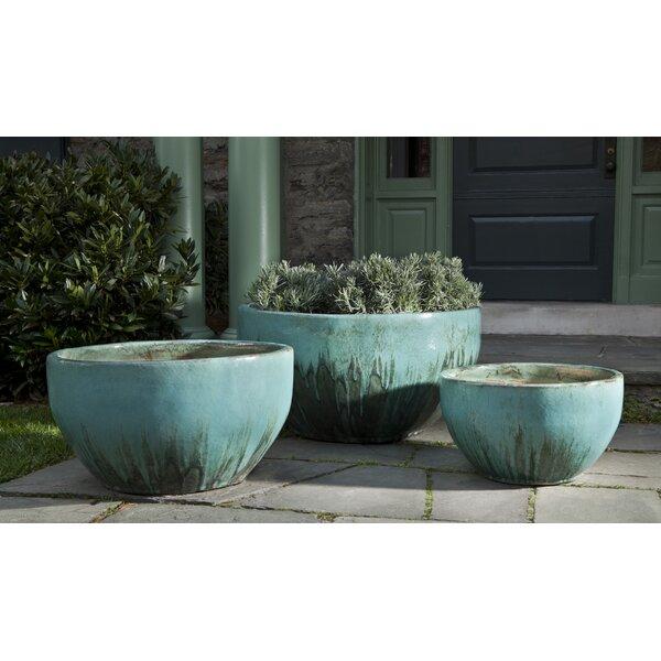 Raegan 3-Piece Terracotta Pot Planter by Bungalow Rose
