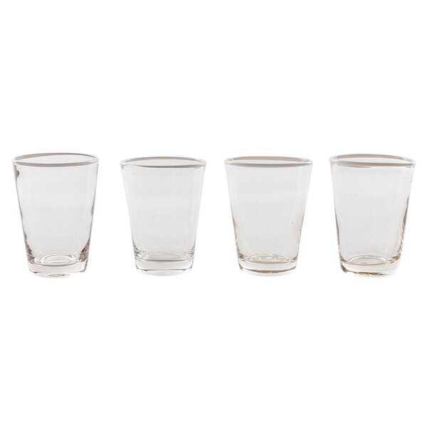 Color Pop Juice Glass (Set of 4) by Couleur Nature