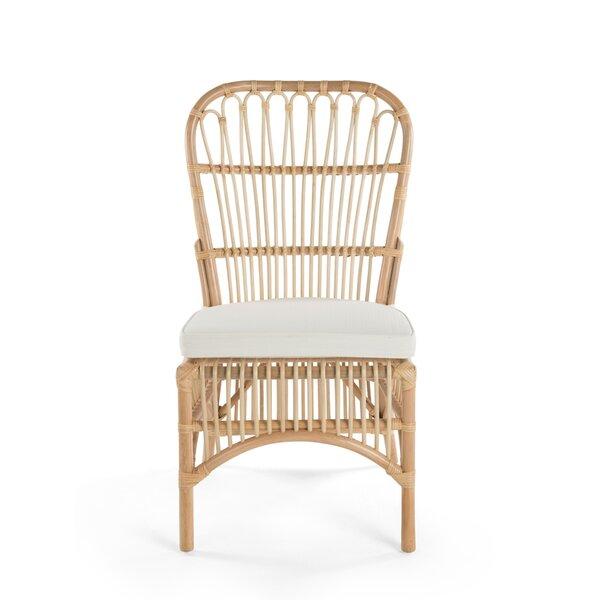 Deloris Rattan Side Chair (Set of 2) by Bayou Breeze
