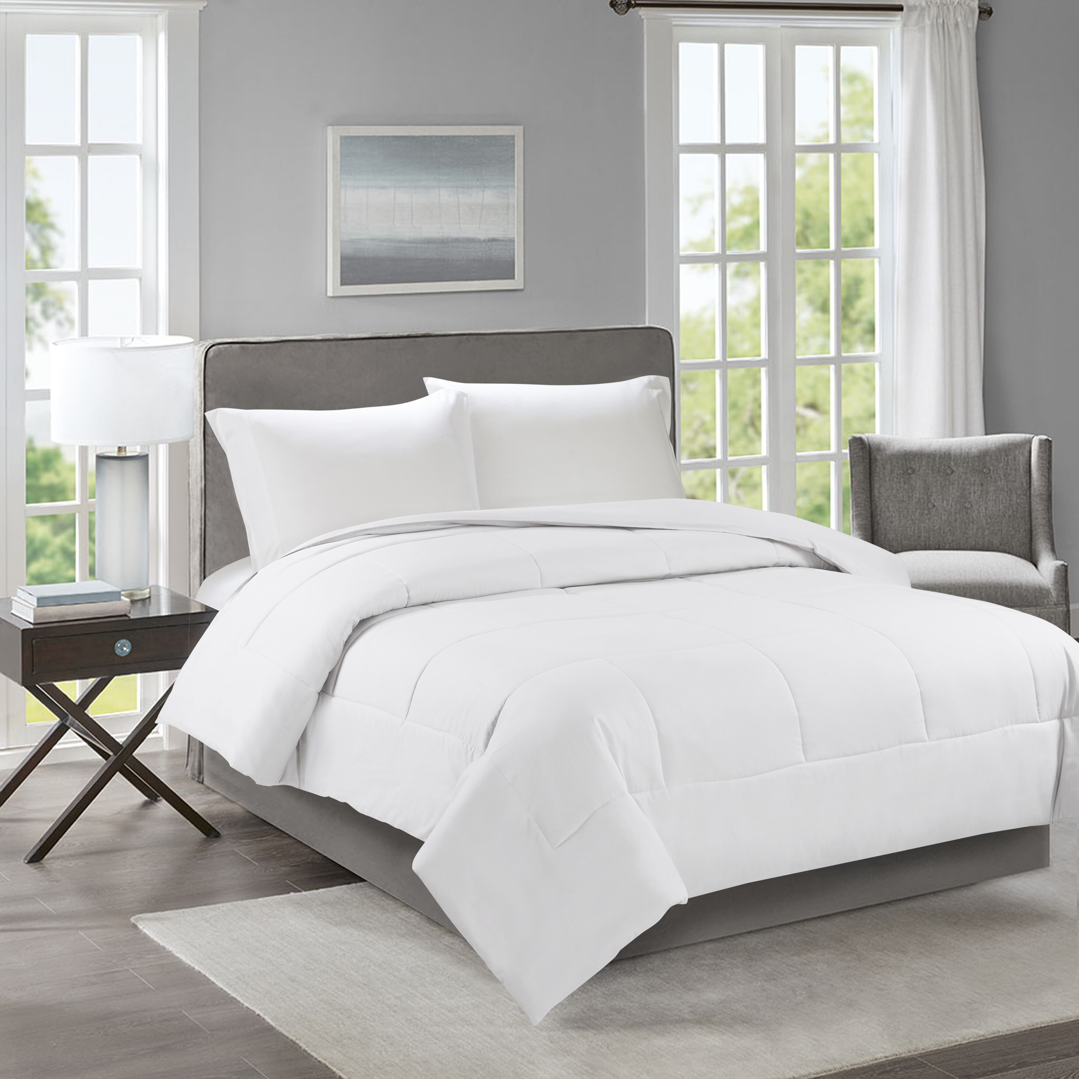 Deep Pocket Bed Coverlet 100/% Cotton Solid Color Fitted//Flat Sheet All Seasons
