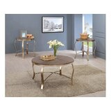 Curley 3 Piece Coffee Table Set by House of Hampton®
