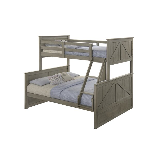 Ploughshare Twin over Full Panel Bed by Simmons Casegoods by Gracie Oaks