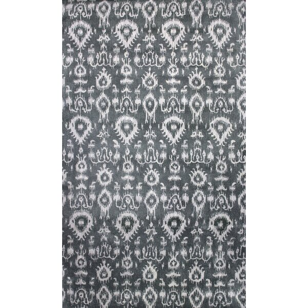 Durrant Hand-Tufted Gray Area Rug by Bungalow Rose