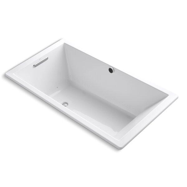 Underscore Bubblemassage 66 x 36 Soaking Bathtub by Kohler