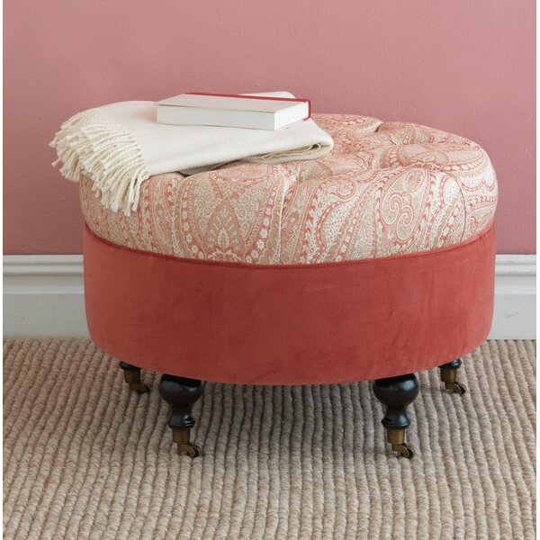 Rena Cocktail Ottoman by Eastern Accents