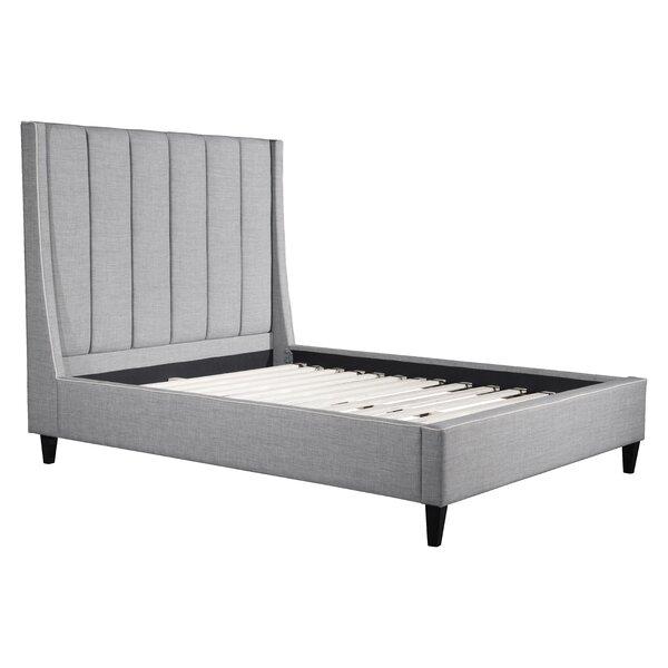 Odina Upholstered Platform Bed by Wade Logan Wade Logan