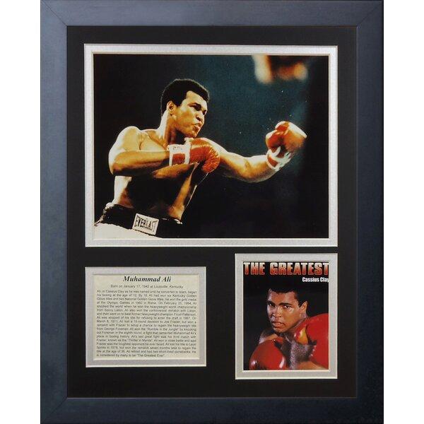 Muhammad Ali Framed Memorabilia by Legends Never Die