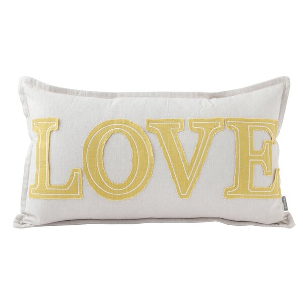 Love Lumbar Throw Pillow by Hallmark Home & Gifts