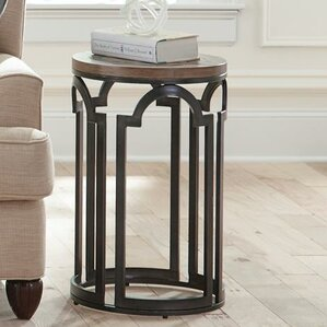 Estelle Round End Table by Riverside Furniture