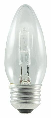 43W (2900K) Blunt Tip Halogen Light Bulb (Set of 8) by Bulbrite Industries