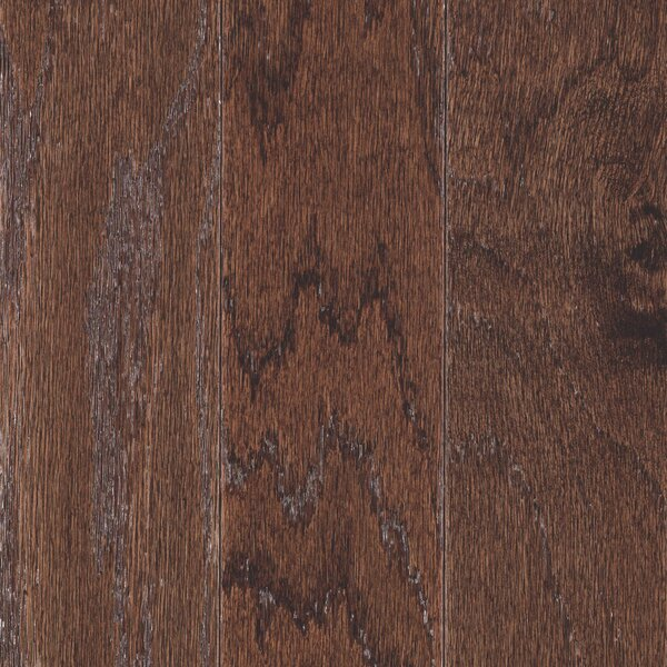 American Loft Random Width Engineered Oak Hardwood Flooring in Chocolate by Mohawk Flooring