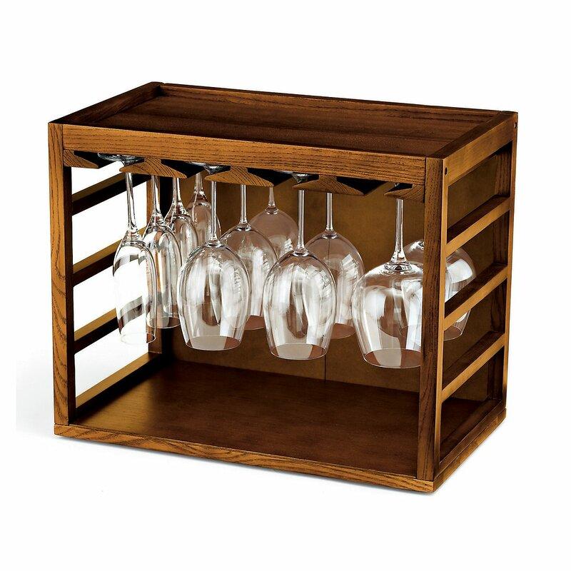 Zipcode Design Kizer Tabletop Wine Glass Rack Wayfair