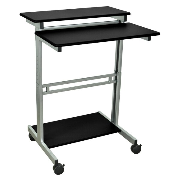 AV Cart with Casters by Luxor