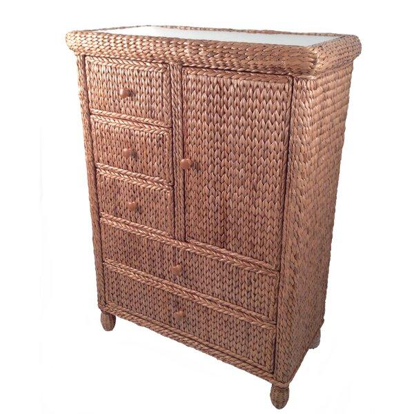 Debolt 5 Drawer Combo Dresser by Bay Isle Home