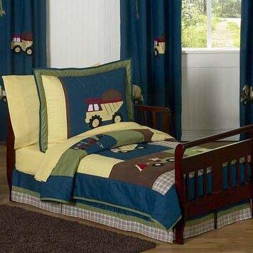 Construction Zone 5 Piece Toddler Bedding Set by Sweet Jojo Designs