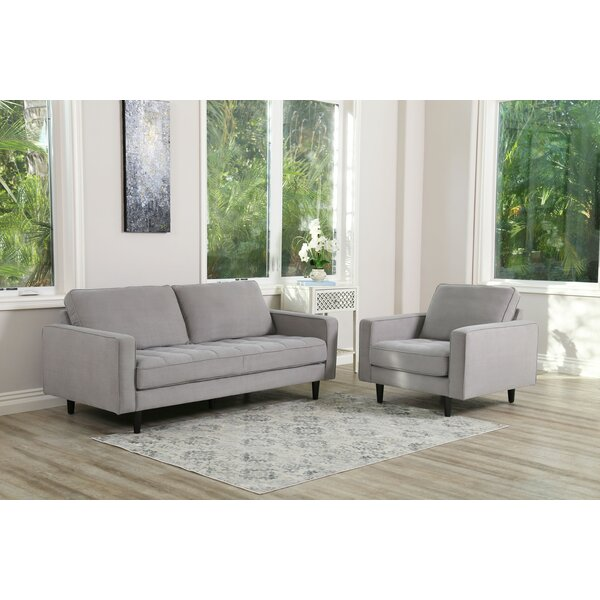 Idris 2 Piece Living Room Set by Modern Rustic Interiors