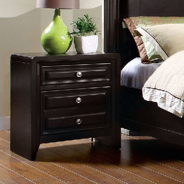 Mattapan 3 Drawer Nightstand by A&J Homes Studio