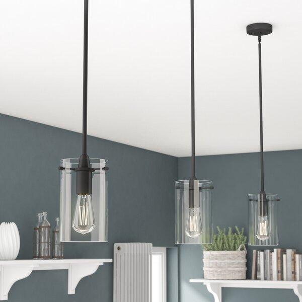Plattsmouth 1-Light Cylinder Pendant by Greyleigh