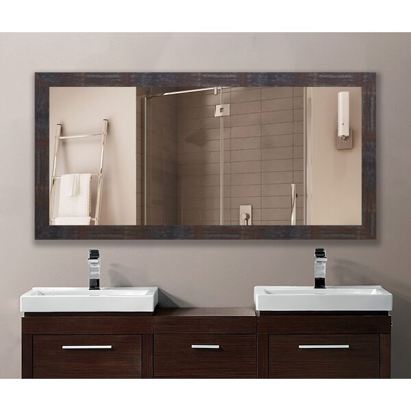Mazzeo Steel/Brass Vanity Mirror by Williston Forge