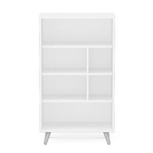 """Jaliyah 4 Shelf 41"""" Standard Bookcase"""