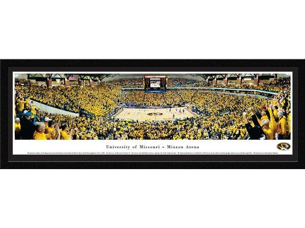 NCAA Missouri, University of - Basketball by James Blakeway Framed Photographic Print by Blakeway Worldwide Panoramas, Inc
