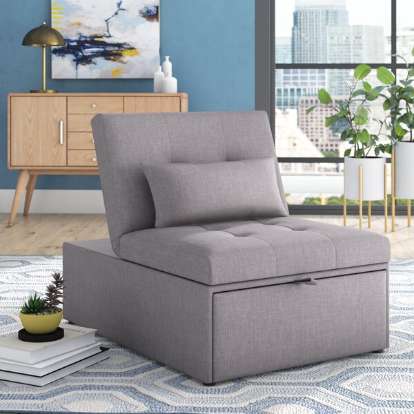 Compare Price Aaronsburg Convertible Chair