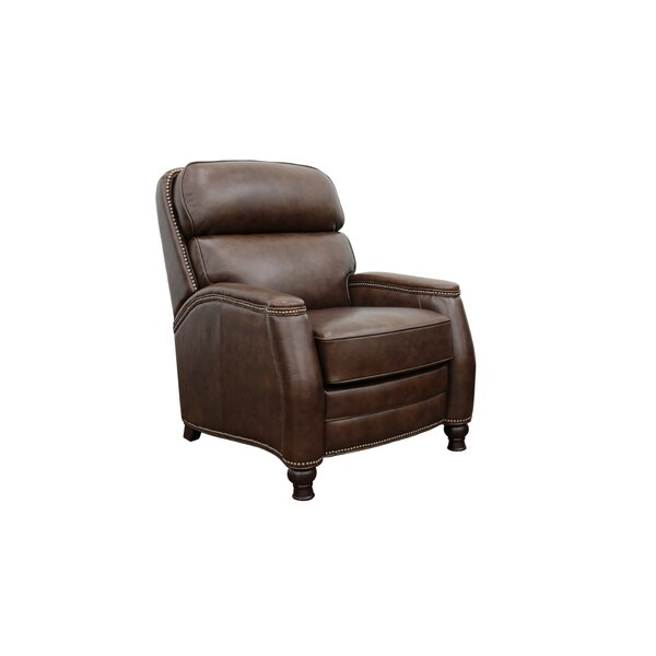 Wilberforce Leather Manual Recliner by Canora Grey Canora Grey