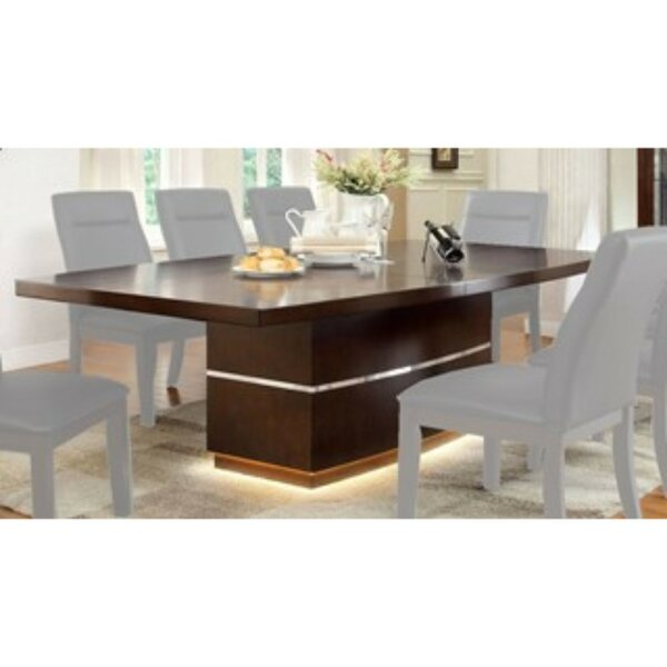 Northfleet 9 Piece Extendable Solid Wood Dining Set by Orren Ellis