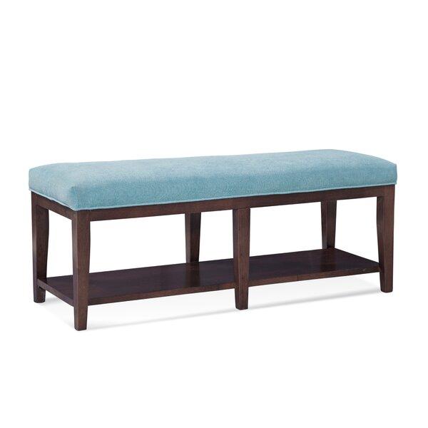 Preston Upholstered Shelves Storage Bench By Braxton Culler