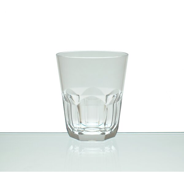 Rosaura 15 oz. Acrylic Whiskey Glass (Set of 6) by Red Barrel Studio
