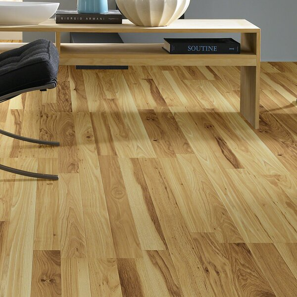 Fairfax 8 x 48 x 6.35mm Hickory Laminate Flooring in Chantillly by Shaw Floors