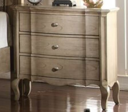 Adler 3 Drawer Nightstand by One Allium Way