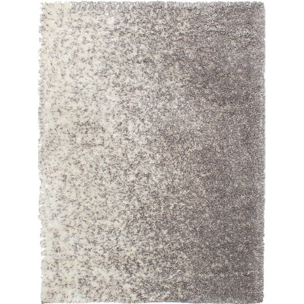 Jimison Cream/Dark Gray Area Rug by Latitude Run
