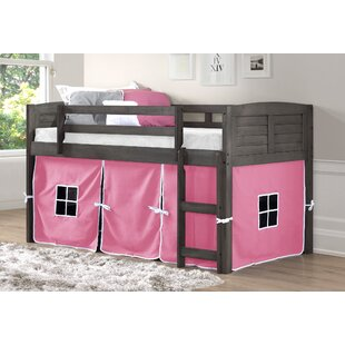 Chatham Twin Platform Bed with Pink Tent by Harriet Bee