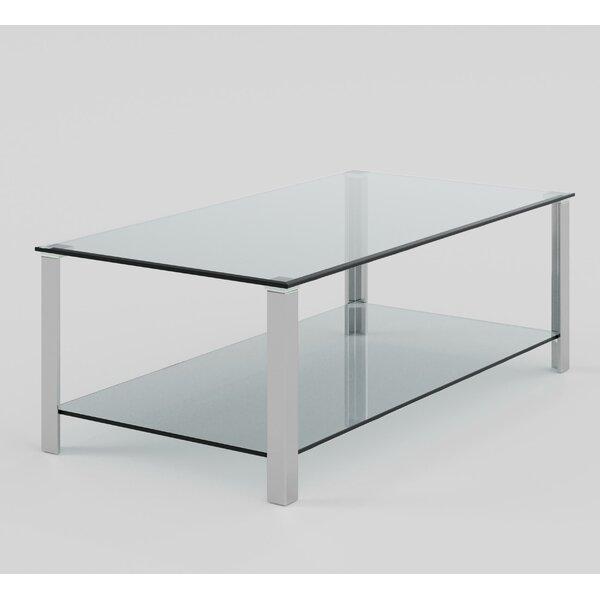 Orren Ellis Glass Top Coffee Tables