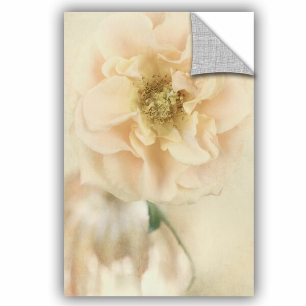 Rose III Removable Wall Decal by House of Hampton