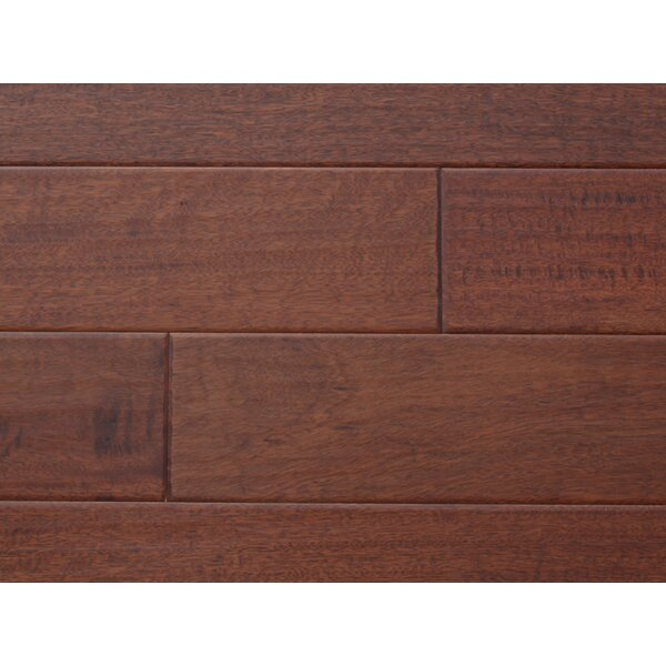 Nottingham 5 Solid Mahogany Hardwood Flooring in Mahogany by Alston Inc.