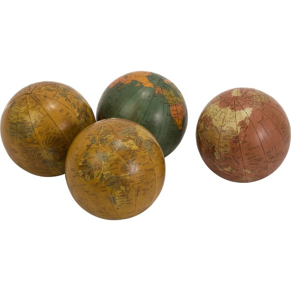 Globe 4 Spheres Set (Set of 4) by World Menagerie