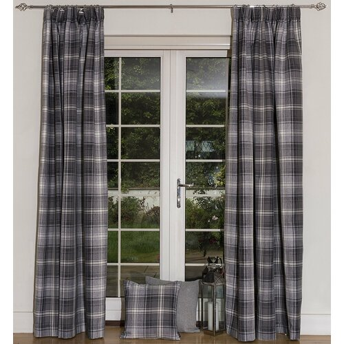Choate Pencil Pleat Blackout Thermal Curtains Union Rustic S