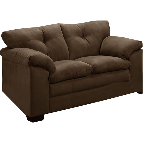 Simmons Upholstery Richland Loveseat by Three Posts