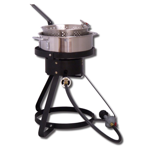 Bolt Together Outdoor Cooker Package with Pot by King Kooker