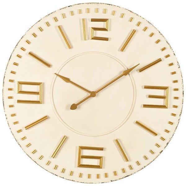 Oversized Scarlette 42 Wall Clock by Corrigan Studio