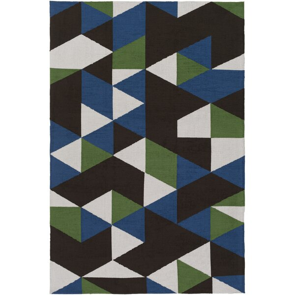 Block Hand Tufted Multi Area Rug by Wrought Studio
